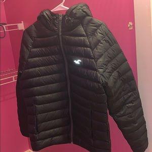 Hollister winter puffer jacket